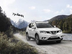Nissan X-Trail X-Scape comes with a GPS Tracking Drone