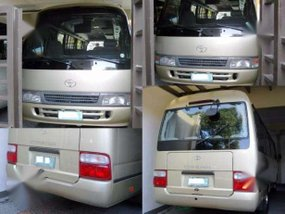 2004 Toyota Coaster MT Beige For Sale