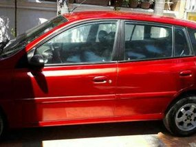 Kia Rio Hatchback 2001 AT Red For Sale