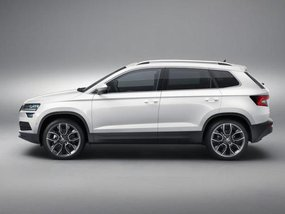Skoda fully unveiled its new Karoq SUV in Sweden