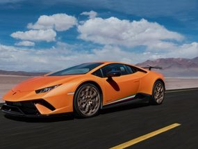 Lamborghini Huracán Performante wins Autocar Innovation Award 2017