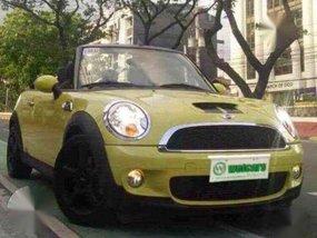 Mini Cooper S Convertible Turbo Mini 2012