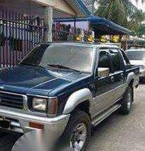 Mitsubishi Strada 4x4 Blue MT For Sale