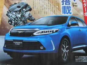 2017 Toyota Harrier facelift gets new turbo engine with 232 hp