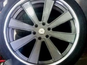 DPE 24 inch mag wheels with tires