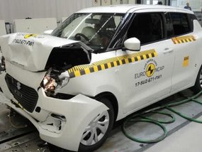 3-star safety rating from Euro NCAP for 2017 Suzuki Swift