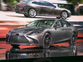 Next-generation Lexus LS 350 unveiled in China