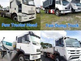 Brand New Faw Tractor Head Dump Truck Transit Mixer Cargo Trucks