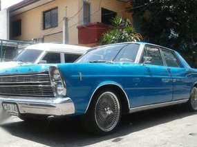 1966 Ford Galaxie 500 MT Blue For Sale