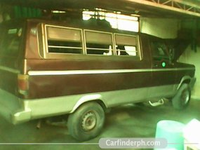 "FOR SALE Zebra Assemble Van ""Brown"""