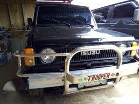 Isuzu Trooper 1996 Black MT For Sale