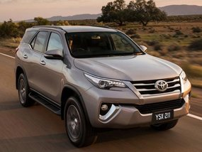 2017 Toyota Fortuner bombarded in Thailand with numerous updated features