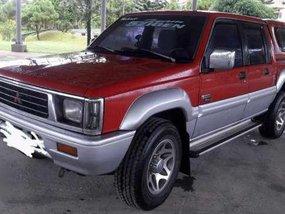 1996 Mitsubishi Strada 4x4 Red MT