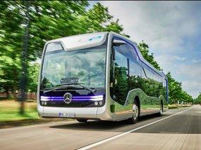 Future Bus - Mercedes Benz's semi-autonomous bus