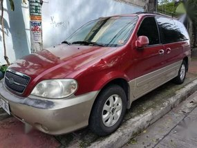 2004 Kia Sedona LS AT Red For Sale