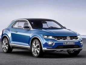 Sneak preview of Volkswagen T-Roc ahead of IAA 2017