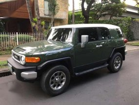 2012 Toyota FJ Cruiser Green For Sale