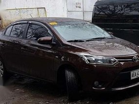 Toyota Vios J Brown 2016 MT For Sale