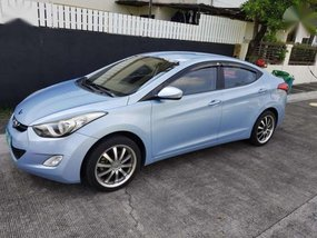 Hyundai Elantra 2012 Blue AT For Sale