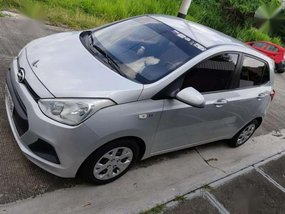 Hyundai Grand i10 2014 Silver AT