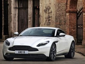 Aston Martin DB11 V8 unveiled with 503bhp AMG powertrain