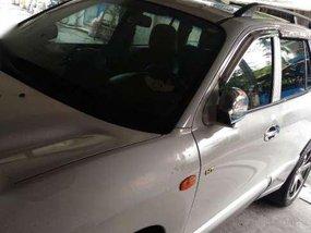 Hyundai Santa Fe White AT For Sale