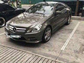 2013 Mercedes Benz E350 coupe 7 speed Paddle