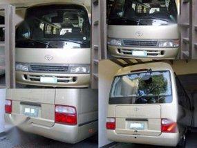 2004 LMTD. Toyota Coaster Diesel 40Tkm Manual - 2TvDvd USB REF