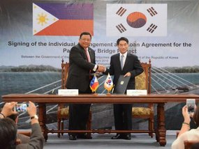 The P4.9-billion Panguil Bay Bridge Project to be constructed by Korean firms