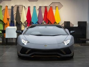 Dazzled by the appearance of Lamborghini Aventador S at Goodwood