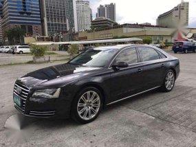 2012 Audi A8 4.2L Quattro Black For Sale