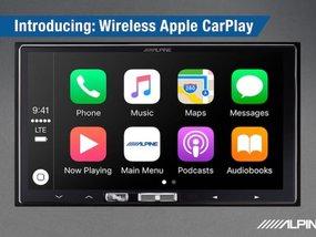 Alpine iLX-107 7-inch system with wireless Apple CarPlay