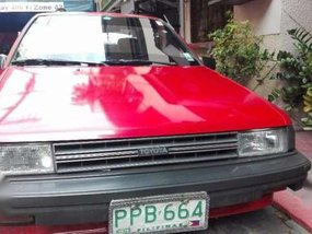 Toyota Tercel 1987 AT Red For Sale
