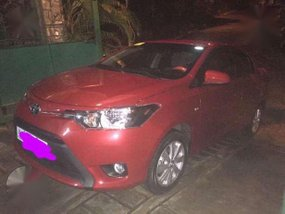 Toyota Vios 2017 Red AT For Sale