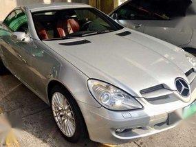 Mercedes Benz SLK 350 Silver AT 2005