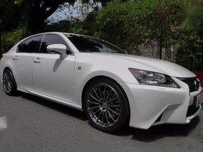 Lexus GS F-Sport 2012 White AT For Sale
