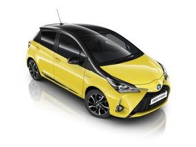 Shine with new Toyota Yaris Yellow Bi-Tone Edition this summer