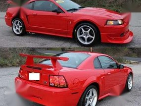 1999 Mustang Cobra Red MT For Sale