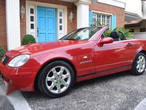 Mercedes Benz SLK 230 Kompressor AT Red