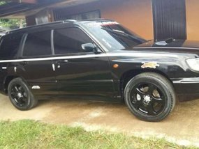 Subaru Forester 1998 Black AT For Sale