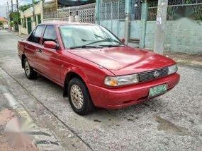 Nissan Sentra Super Saloon 1991 Red MT