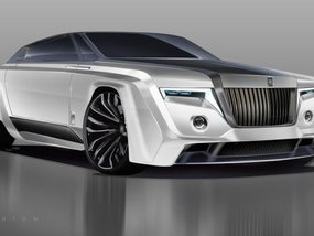 Take a peek at the 2050 Rolls-Royce Phantom