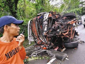 5 deadly bus accidents in the Philippines