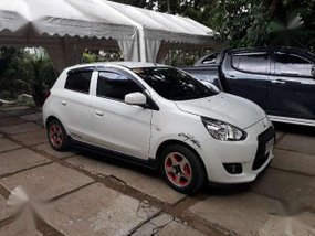 Mitsubishi Mirage 2014 MT White For Sale