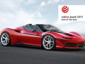 Ferrari wins Red Dot Design Awards again in 2017