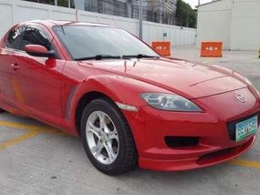 Mazda RX8 Sport 2003 Red MT For Sale