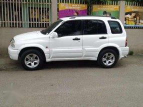 2004 Suzuki Grand Vitara 4x4 MT White For Sale