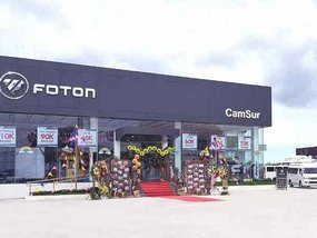 Foton opened its Camarines Sur dealership last July 17