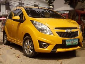 Chevrolet Spark 2009 AT Yellow For Sale