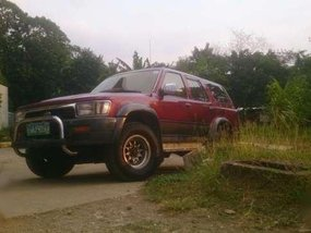 1992 Toyota Hilux Surf Ssr-X AT Red For Sale